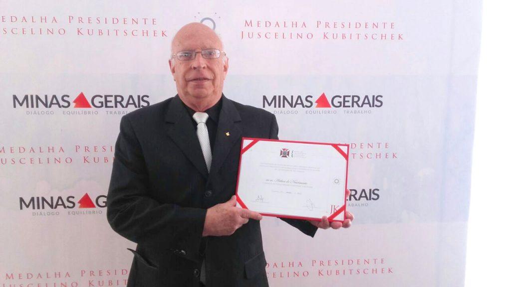 Nosso diretor Arthur foi honrado com a medalha Juscelino Kubitschek