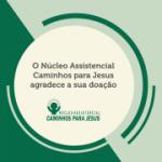Doação de 500 reais